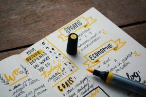 Chiarire gli obiettivi per gestire l'ansia e gestire il tempo